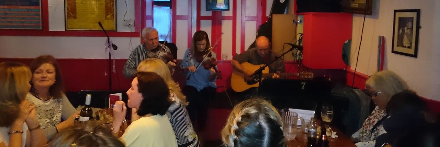 The Craic at local County Clare Irish bar