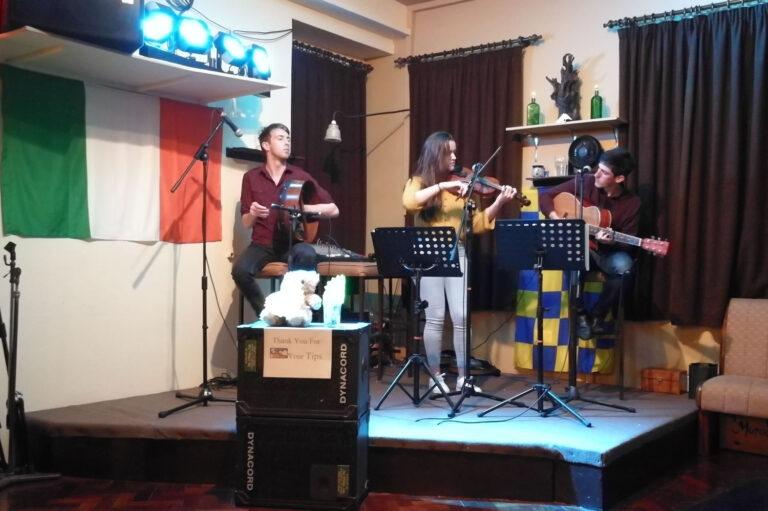 Irish Tradtional Music at Rathbaun Hotel